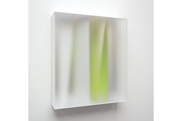 Rita Rohlfing, Color Space Object, IMMATERIAL SPACE, 2014, Acrylglas, Acrylfarbe, 100 x 87,5 x 22 cm