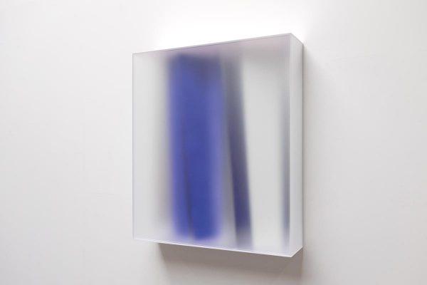 Rita Rohlfing, Color Space Object, brilliant, 2015, Acrylglas, Acrylfarbe, 100 x 87,5 x 22 cm