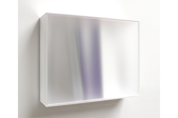 Rita Rohlfing, Color Space Object, crystal space, 2013, Acrylglas, Acrylfarbe, 40 x 50 x 14 cm