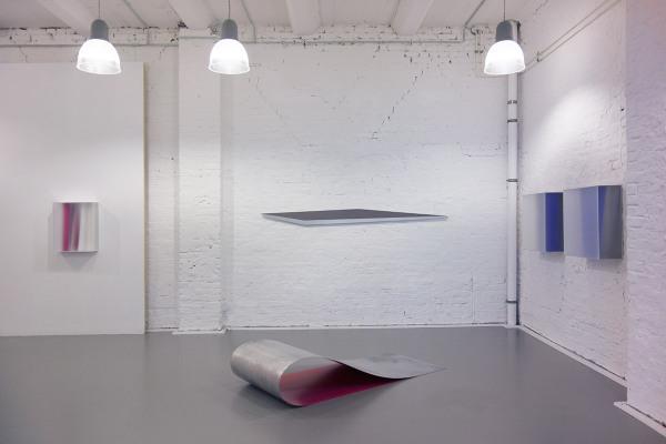 Rita Rohlfing, exhibition view, 2016, Galerie Floss & Schultz, Köln