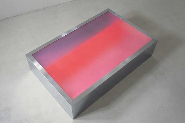 ANSCHEINEND - Installation, 2004, mixed media, 66 x 300 x 191 cm