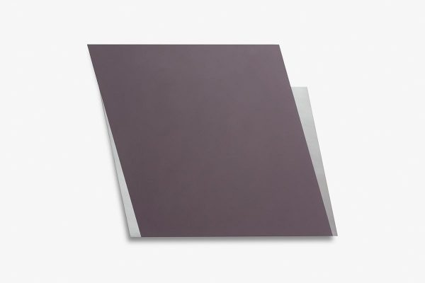 Rita Rohlfing, Color Field Painting, Shaped Aluminum, untitled space, 2000-2013, Aluminium, Lackfarbe, 72 x 93 x 3 cm