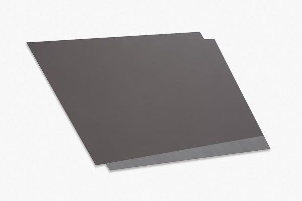 Rita Rohlfing, Color Field Painting, Shaped Aluminum, o.T. / untitled, 2001, Aluminium, Lackfarbe, 84 x 146 x 3 cm