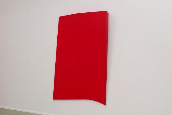 Rita Rohlfing, R.o.T., 1994, Acryl und Öl auf Leinwand, 250 x 150 x 20 cm