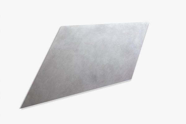 Rita Rohlfing, metallica, 2015, Aluminium, Lackfarbe, 95 x 160 x 2 cm